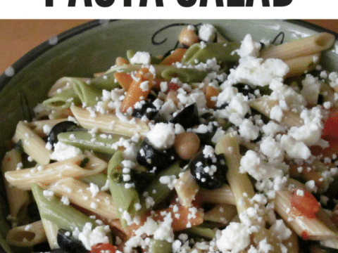 Spinach and Feta Pasta Salad