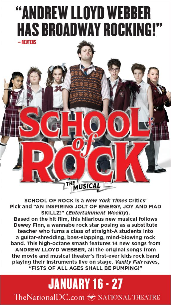 School of Rock the Musical in DC