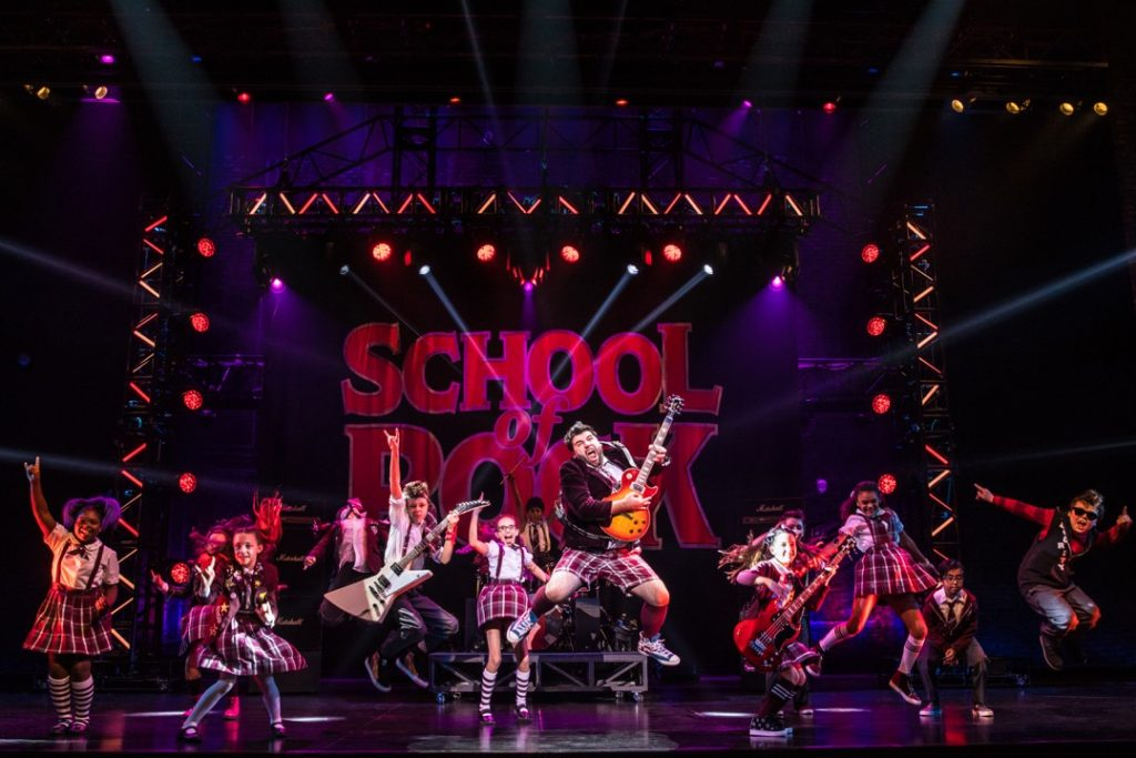 Teens and tweens will love School of Rock on Tour. Catch it in DC or across the country