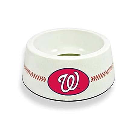 GameWear Washington Nationals Classic Baseball Pet Bowl