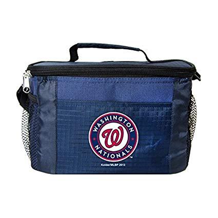 New MLB Baseball 2014 Team Color Logo 6 Pack Lunch Bag Cooler - Pick Team