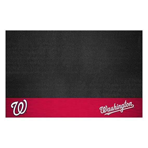Fanmats MLB Washington Nationals Vinyl Grill Mat