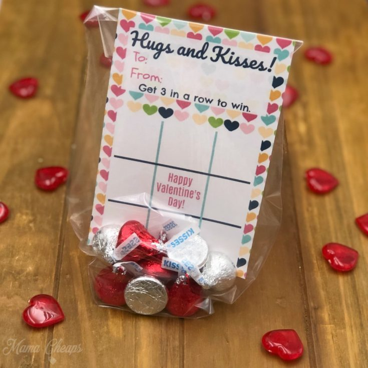 Printable Tic Tac Toe Valentine Cards - Just Add Candy!
