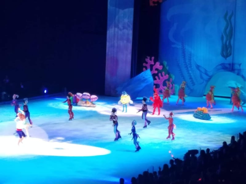Little Mermaid at Disney on Ice