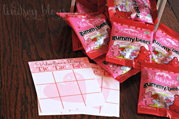 DIY Valentines Cards for Kids: Tic Tac Toe Printables