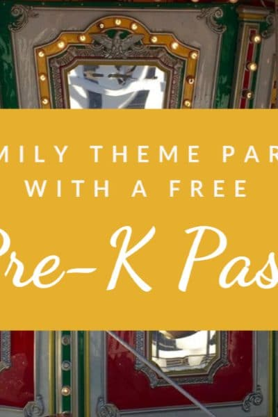 12 Theme Parks that Offer a Free Preschool Pass