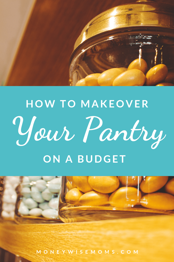tips to makeover your kitchen pantry on a tight budget | frugal home improvement