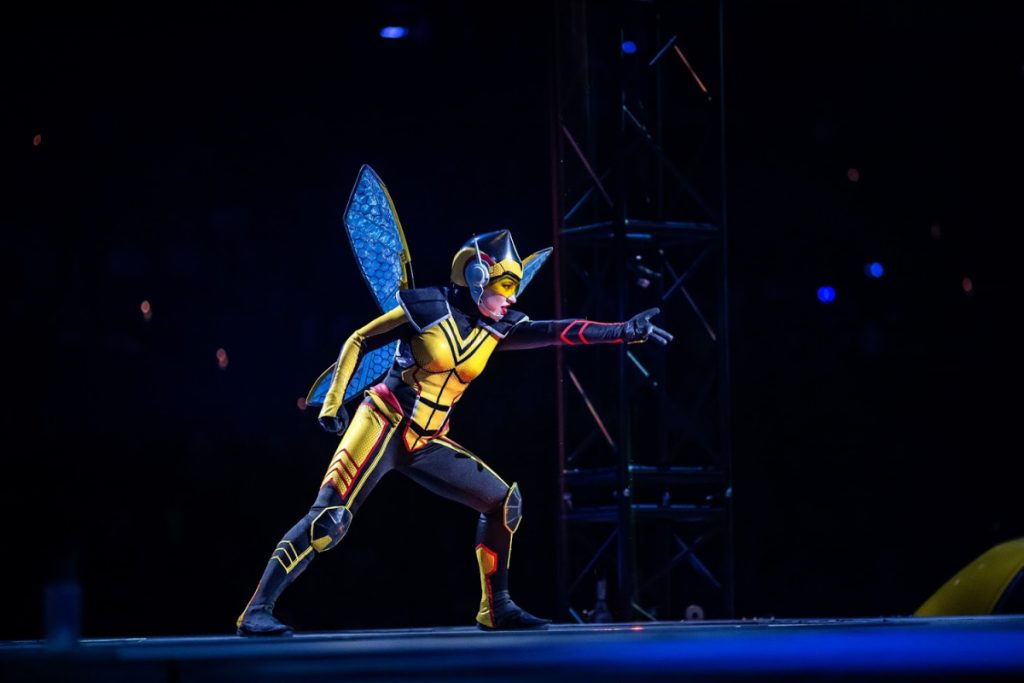 The Wasp at Marvel Universe Live Show