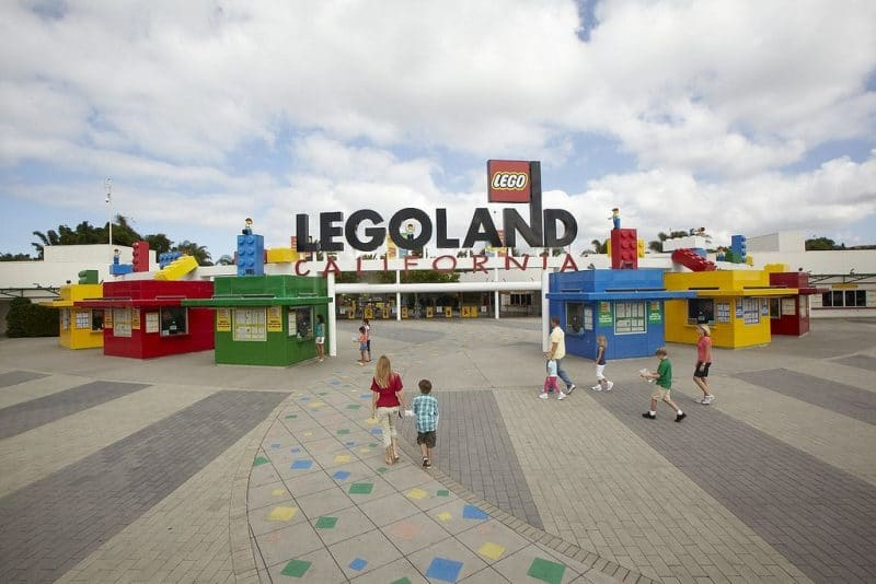 Legoland California free preschool pass