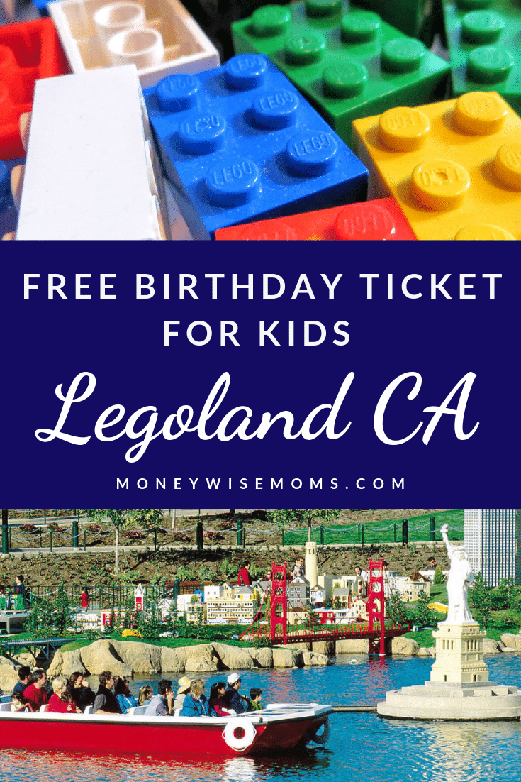 Free kids ticket to Legoland California