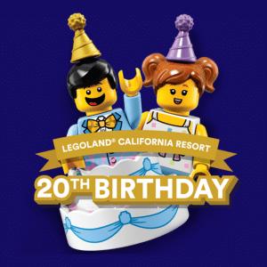 Free kids ticket to Legoland California