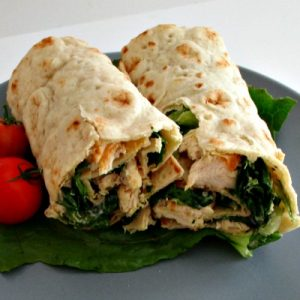 Chicken Wraps in the Lunchbox