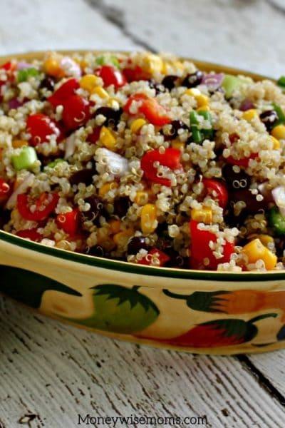 The Tastiest Quinoa Salad Recipe!