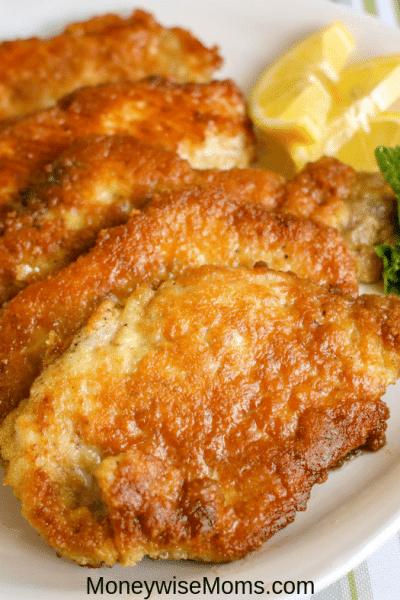 Simple Breaded Pork Chops Recipe
