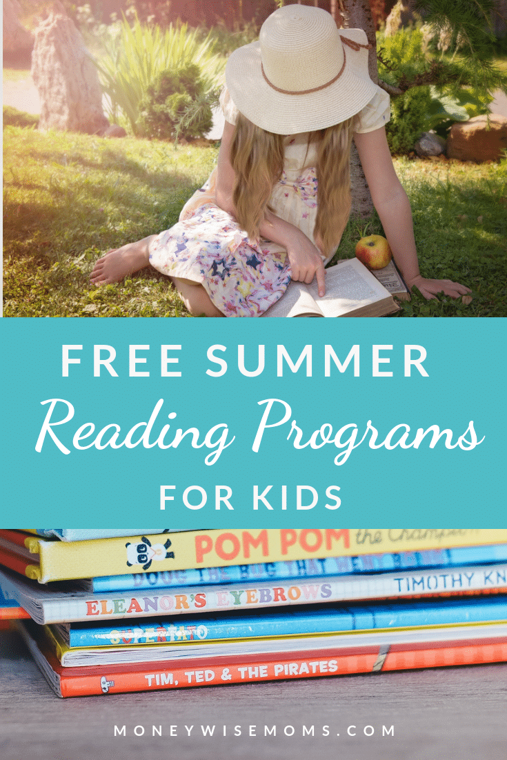 Free summer reading programs for kids at stores nationwide