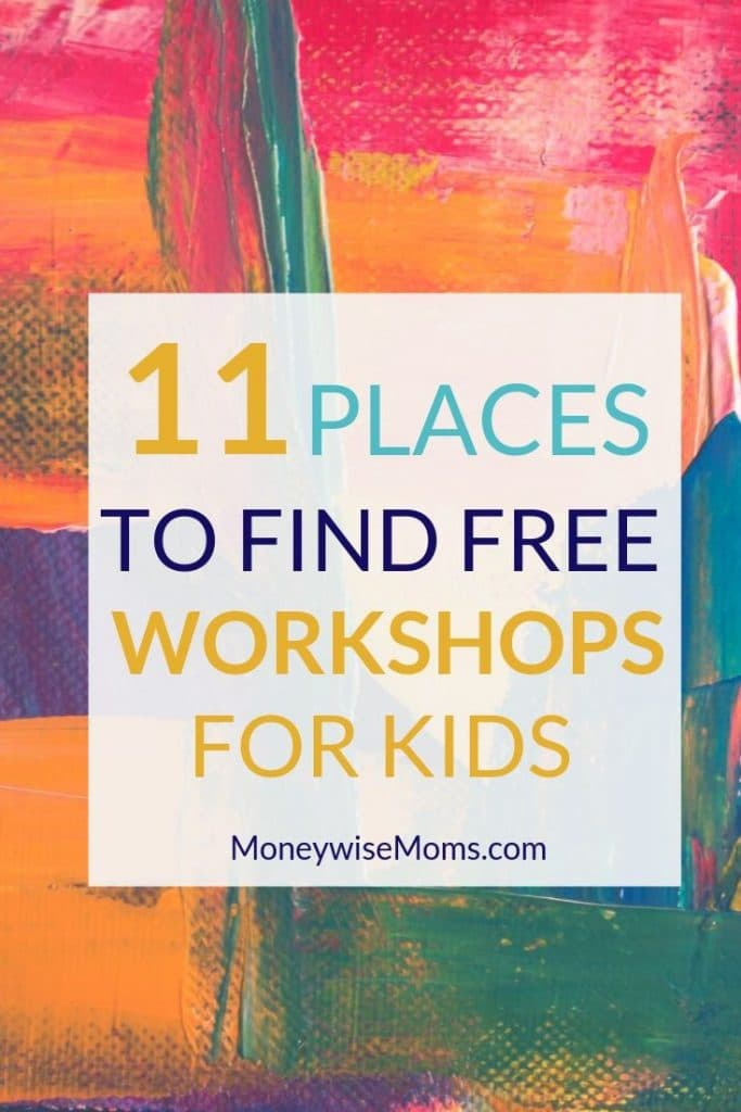 where to find free workshops for kids