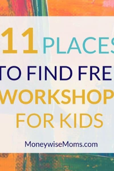 Free Kids Crafts, Classes & Workshops All Year Long