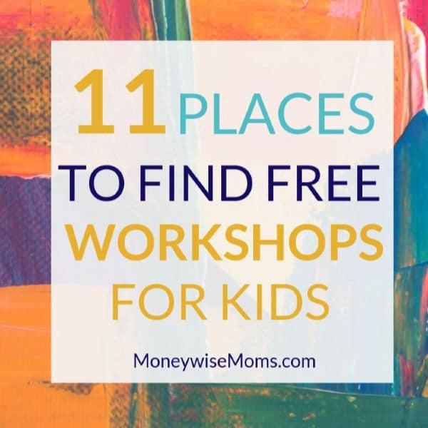 Free workshops for kids year round