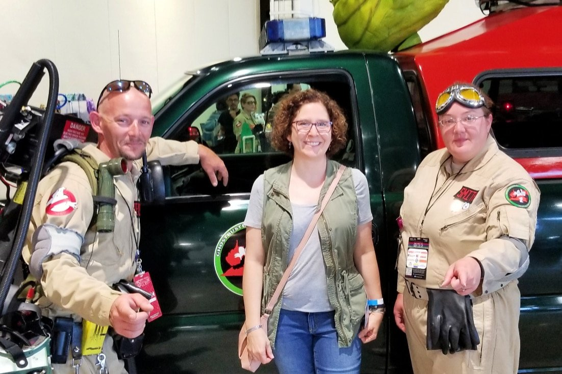 Ghostbusters at Escape Velocity DC