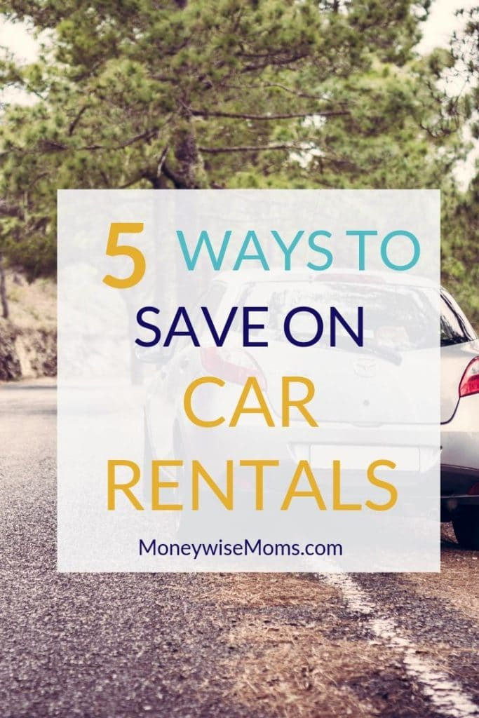 Summer family travel - saving money on car rentals