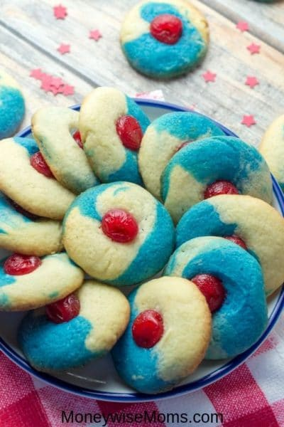 Bake Patriotic Thumbprint Cookies this Summer