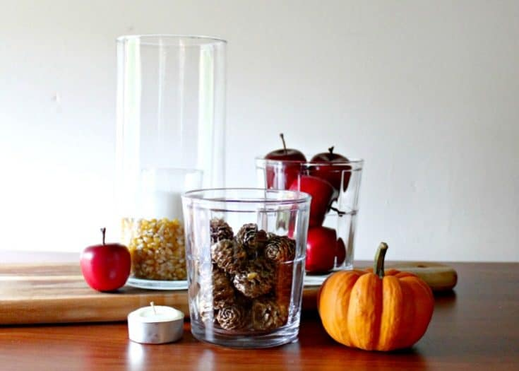 A Gorgeous Fall Centerpiece in 5 Minutes or Less