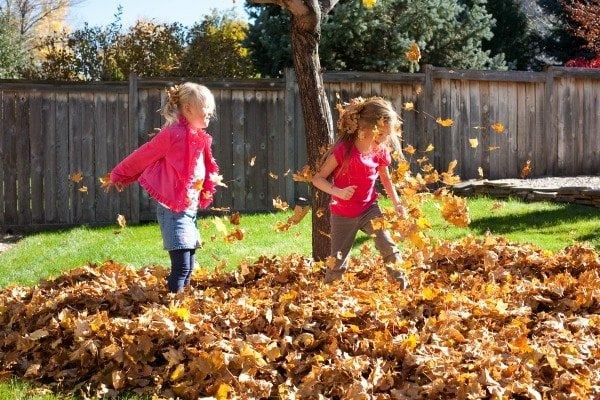 Gratitude Filled Thanksgiving Leaf Garland