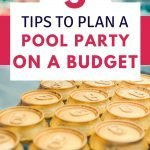 how to host a budget pool party this summer