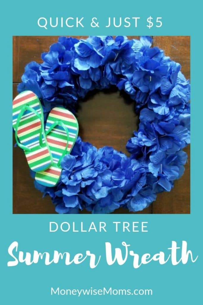 5 Dollar Summer Wreath