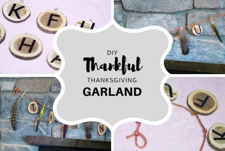 Easy Thanksgiving Garland DIY