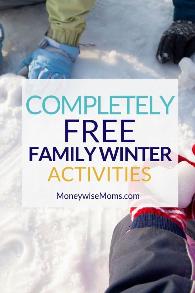 Free winter activities to do as a family