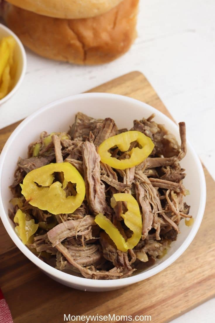 This Italian beef sandwich will become a family favorite