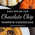 Easy recipe for Chocolate Chip Pumpkin Cheesecake