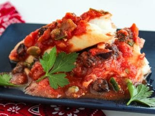 Quick & Easy Baked Tilapia Veracruz