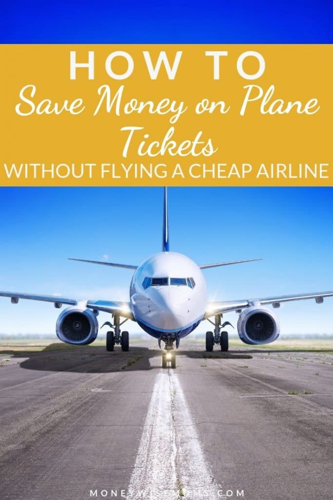Save money on flights - family travel