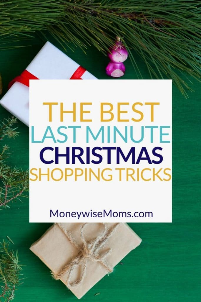 Last Minute Christmas Shopping - Tips and Tricks