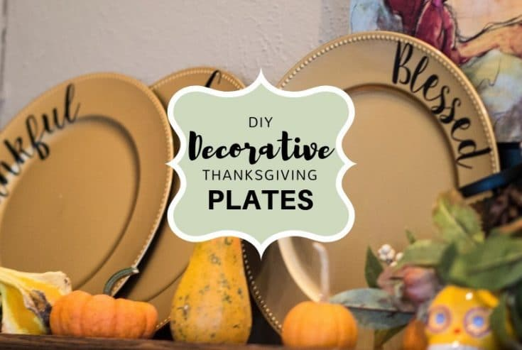 Easy DIY Thanksgiving Plate Decoration Idea that will Amaze!