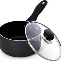 Utopia Kitchen 2-Quart Nonstick Saucepan with Glass Lid