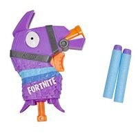 NERF Fortnite Llama Microshots Dart-Firing Toy Blaster & 2 Official Elite Darts