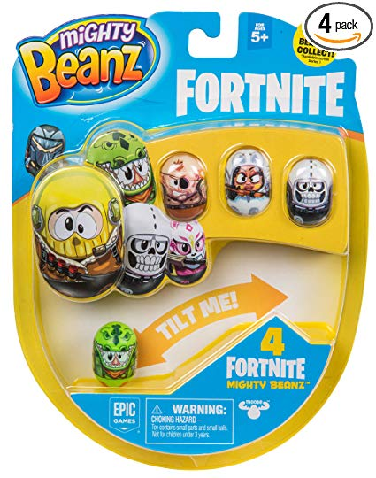 Mighty Beanz Fortnite 4 Pack Toy