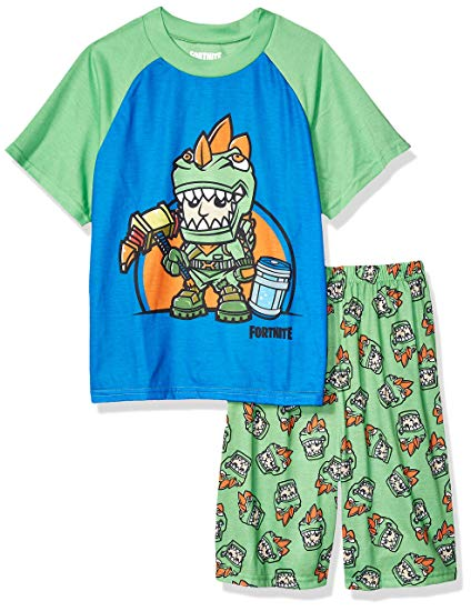 Fortnite Boys' Big 2-Piece Pajama Set