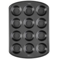 Wilton Premium Non-Stick Bakeware Muffin and Cupcake Pan, 12-Cup