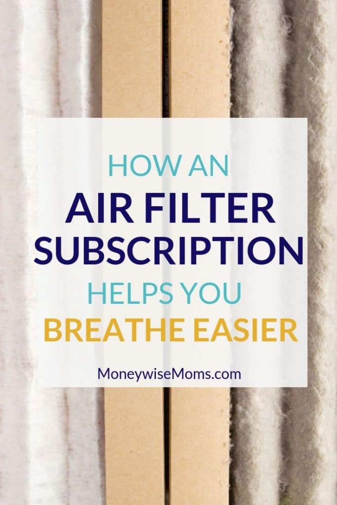 How an air filter subscription helps with home maintenance