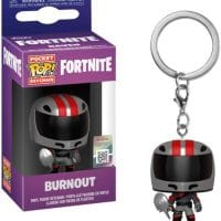 Fortnite Series 2 Burnout Keychain