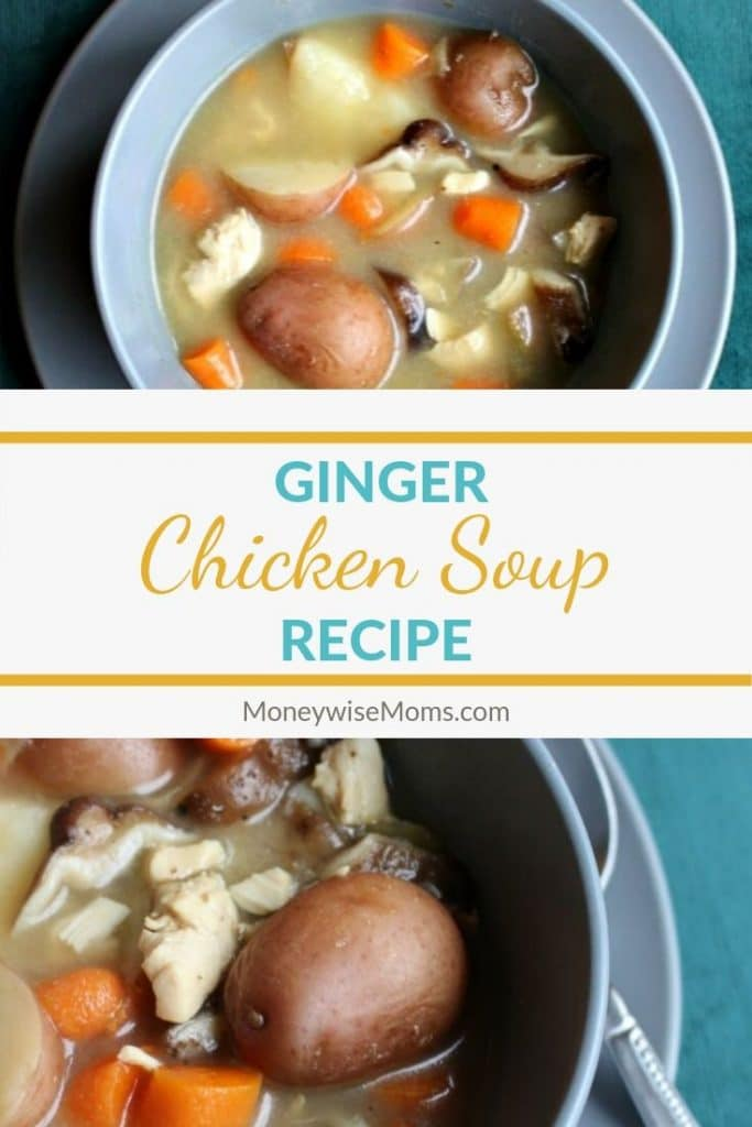 You'll love this twist! This Ginger Chicken Soup has such fresh flavors and is a nice change from the traditional. It's one of our favorite family recipes.