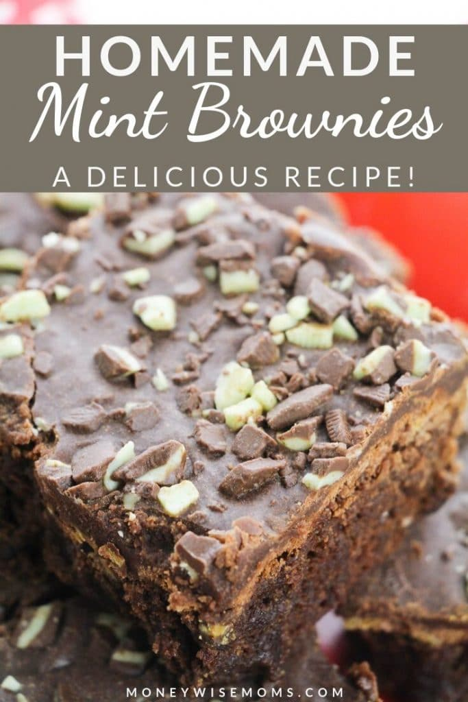 These homemade brownies are so delicious. The mint topping makes them even better! My mint brownies recipe will be your new favorite, I'm sure of it!
