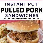 IP Pulled Pork Sandwiches Recipe instapot instant pot