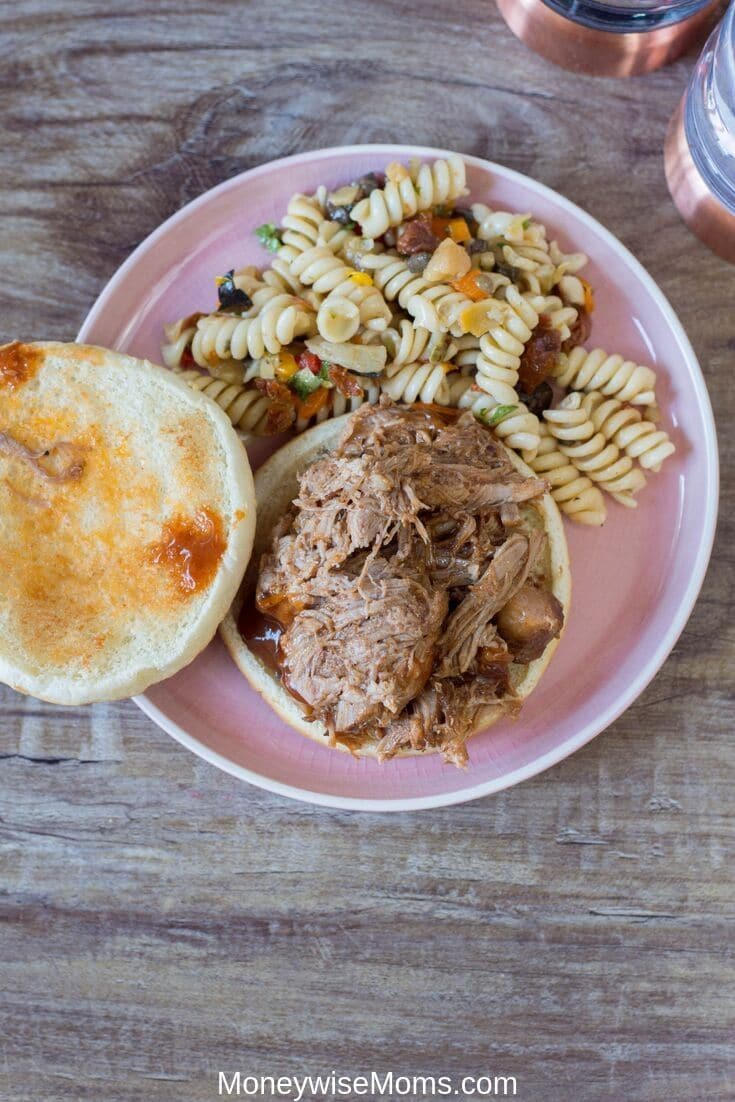 The Instant Pot is great for making pulled pork. It locks in the flavors and juices and keeps everything super tender and moist. It also takes the time and guess work out of cooking pulled pork perfectly. My Instant Pot pulled pork recipe is also great for meal prep!
