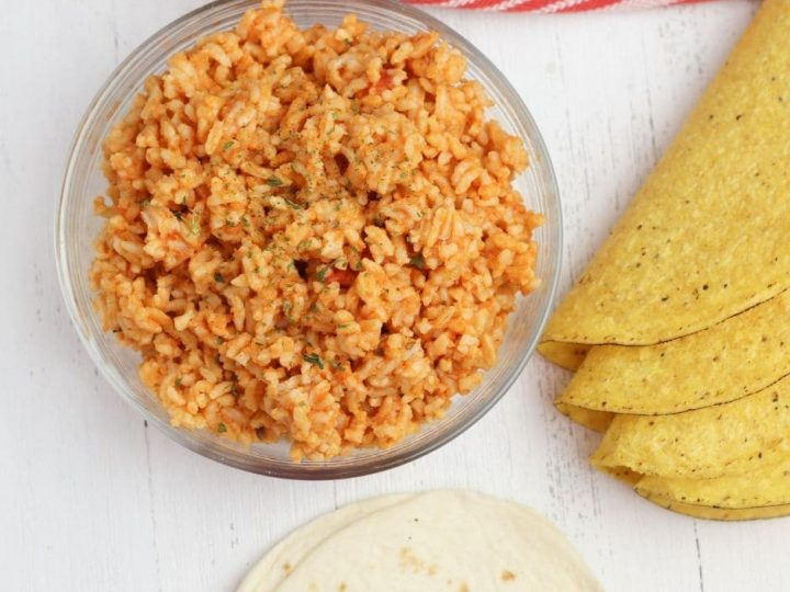 Instant Pot Mexican rice is a great side dish, topping for Taco Tuesday celebrations, and base for your favorite protein! You can make this tasty rice recipe quickly and easily thanks to the Instant Pot!