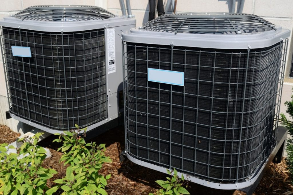 HVAC units outside of house | air filter subscription